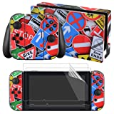 eXtremeRate Full Set Faceplate Skin Decal Stickers