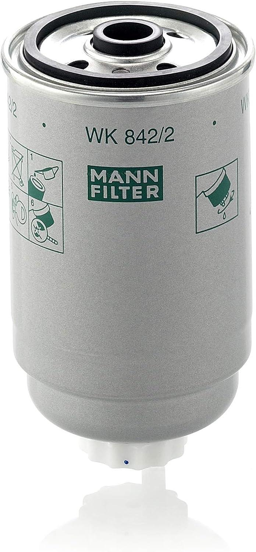Original Mann Filter Kraftstofffilter Wk 842 2 Für Pkw Lkw Busse Und Nutzfahrzeuge Auto