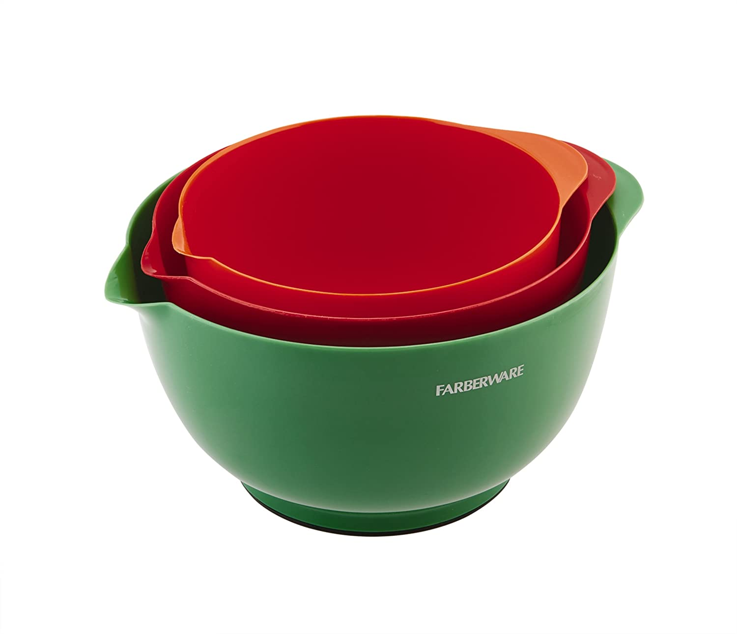 Baking Accs. & Cake Decorating Brand New Set Of 4 Multi Coloured Plastic Mixing Bowls Baking Kitchen Cooking Keep You Fit All The Time