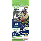 2020 Donruss NFL Football HUGE Factory Sealed JUMBO FAT Pack with 30 Cards Including (4) EXCLUSIVE BLUE PARALLELS! Look…