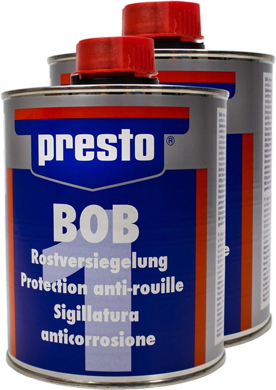 Presto 2x 603734 Bob Rostversiegelung Rostvorbehandlung Verfestigt Isoliert 750 Auto