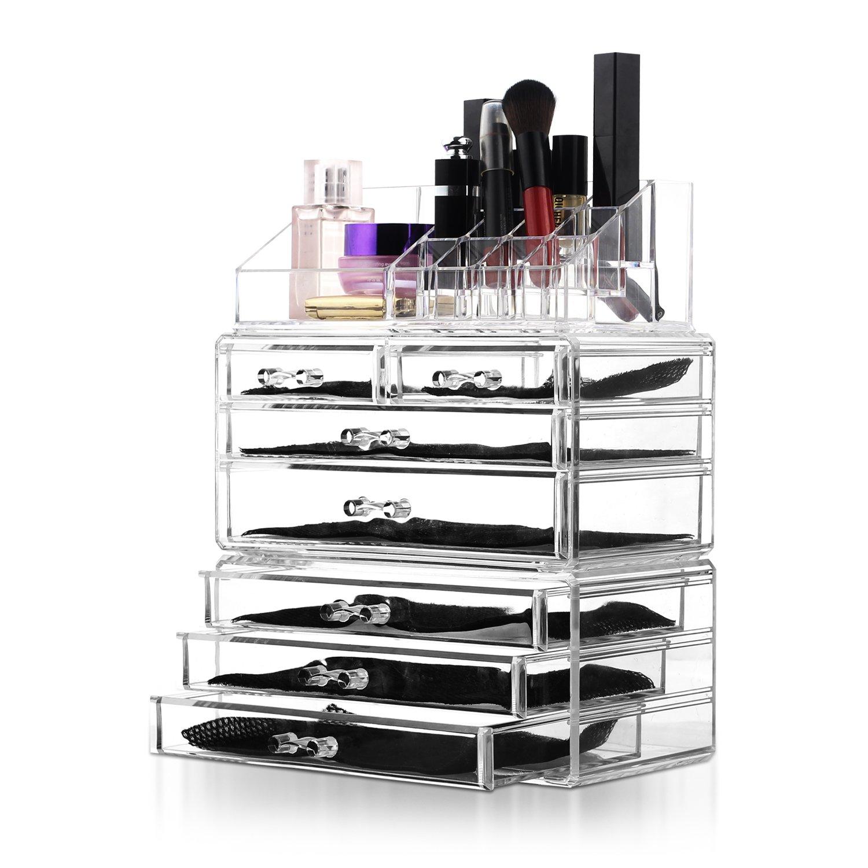 Unique Home Organizzatore Cosmetici set di 3 pezzi