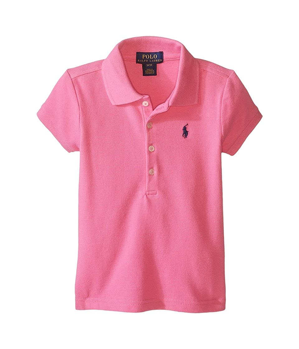 70c06bc99 Top5: Polo Ralph Lauren Kids Short Sleeve Mesh Polo Shirt Toddler Maui Pink  Girls Short Sleeve Knit