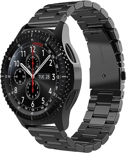 Simpeak Correa Compatible con Samsung Gear S3 Reloj, Correa ...