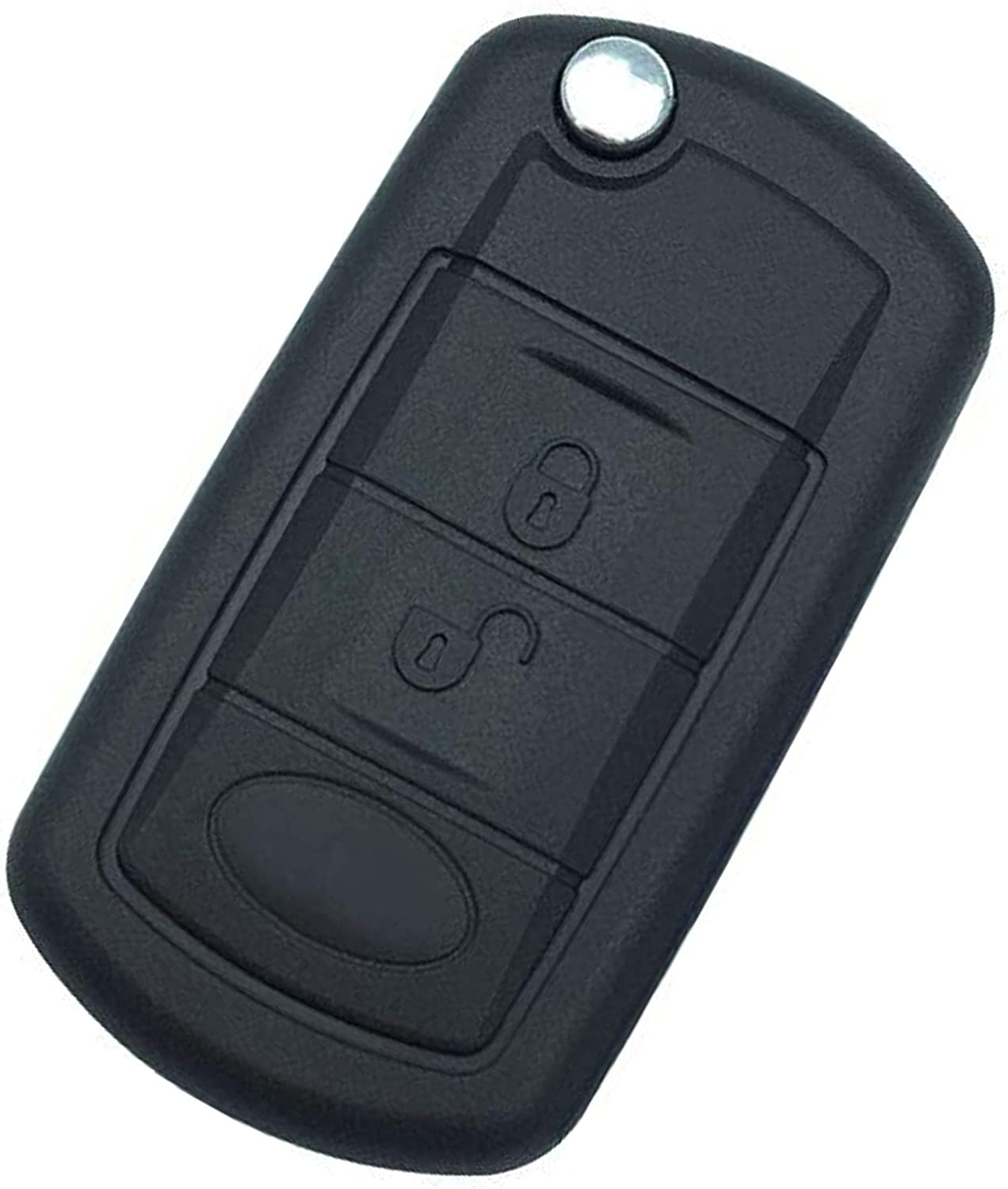 Replacement for Keyless Entry Smart Remote Control Key Fob Case Shell Fit For 2005-2010 Land Rover/Range Rover 2006-2009 Land Range Rover Sport 2005-2009 Land Rover LR3 Land Rover Discovery 3