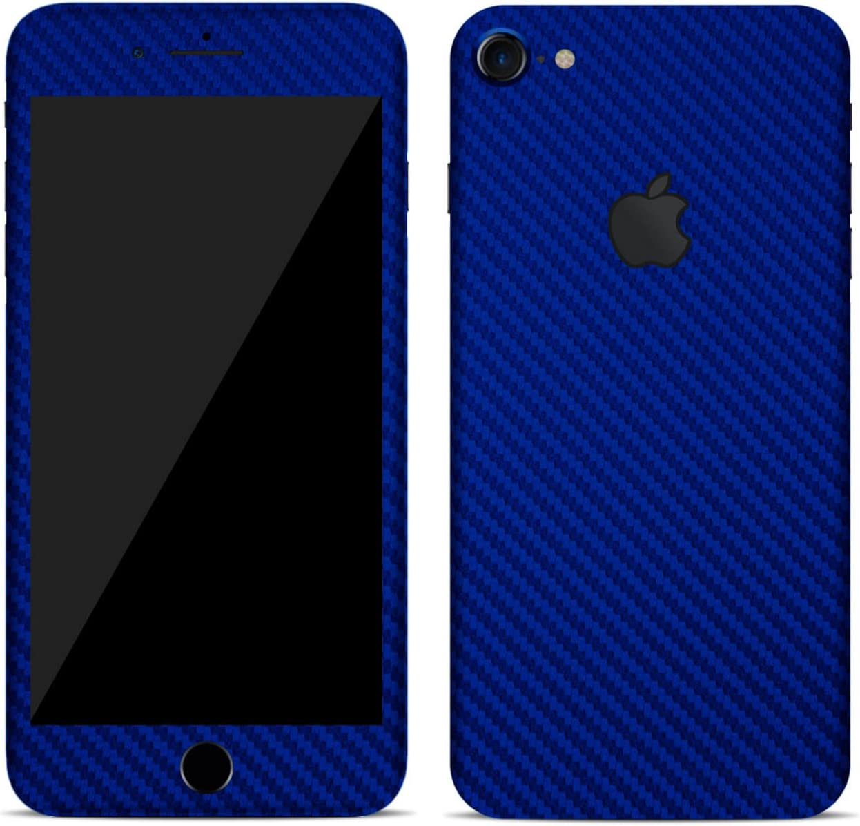 plus Full Body Wrap iphone 7 plus, matt orange SmartSkins Textured skin sticker for iPhone 7 /& 7