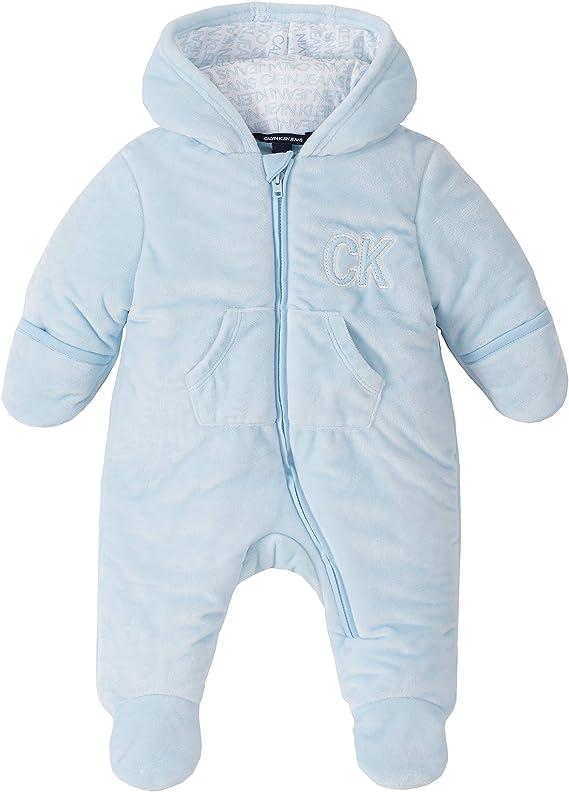 Calvin Klein Baby Boys Pram Jacke Powder Blue 6 9 Months Bekleidung