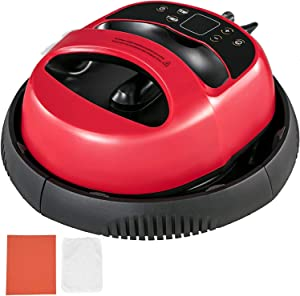 "Portable 12"" X 10"" Digital Heat Press Heat Transfer Sublimation Easy Press Machine, 2 in 1 Transfer & Ironing Machine (Red)"