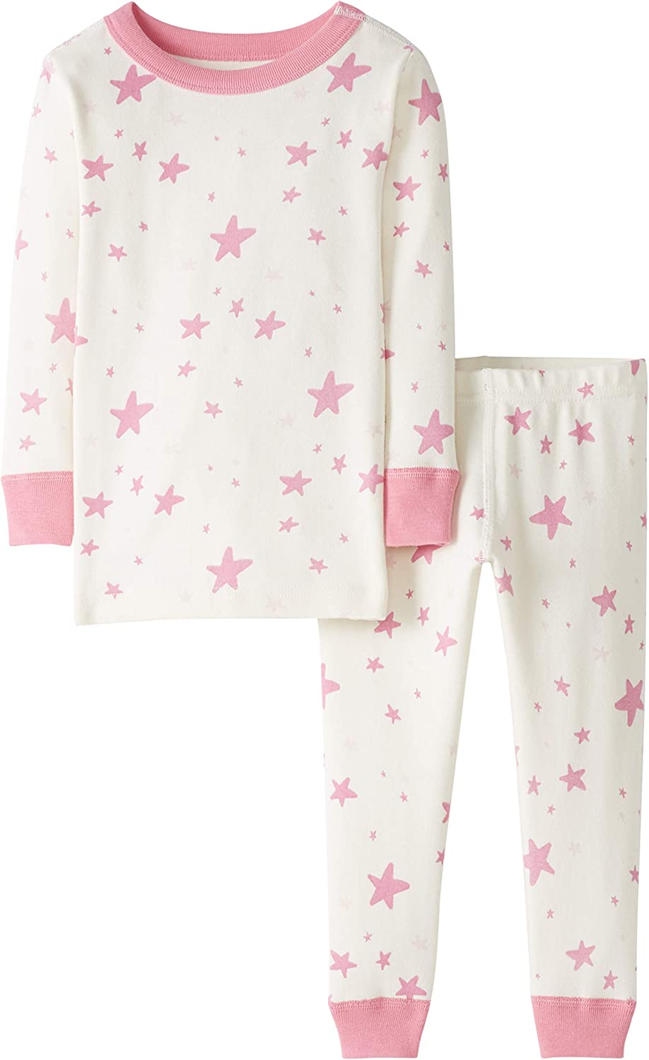 Moon and Back Baby 2 Piece Long Sleeve Pajama Set 18-24 months Penguin Print