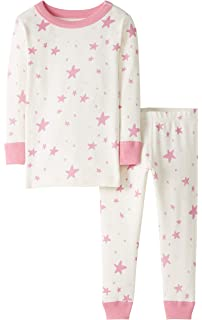 Moon and Back by Hanna Andersson Baby Girls 2 Piece Legging Set