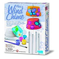 4M 4824 Make A Wind Chime Kit - Arts & Crafts Construct & Paint A Wind Powered Musical...