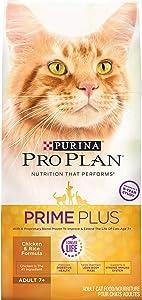 Purina Pro Plan Senior 7+ Nutrient Dense, High Protein Senior Dry Cat Food (Packaging May Vary)