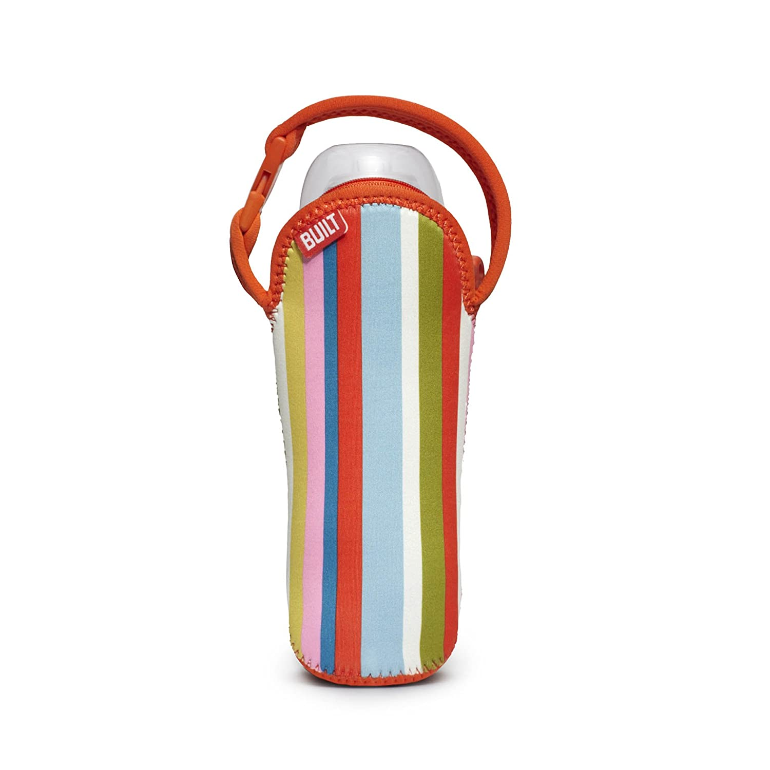 Built NY One Bottle Tote Baby Pink Stripe BBY-BBD1-BPS BBY-BBD1-BPS_Naranja