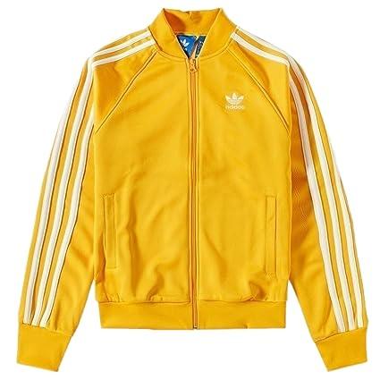 Adidas Superstar Track Top – Chaqueta para Hombre, Amarillo, Blanco, ...