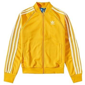 Adidas Superstar Track Top - Chaqueta para Hombre, Amarillo, Blanco, M - 50: Amazon.es: Deportes y aire libre