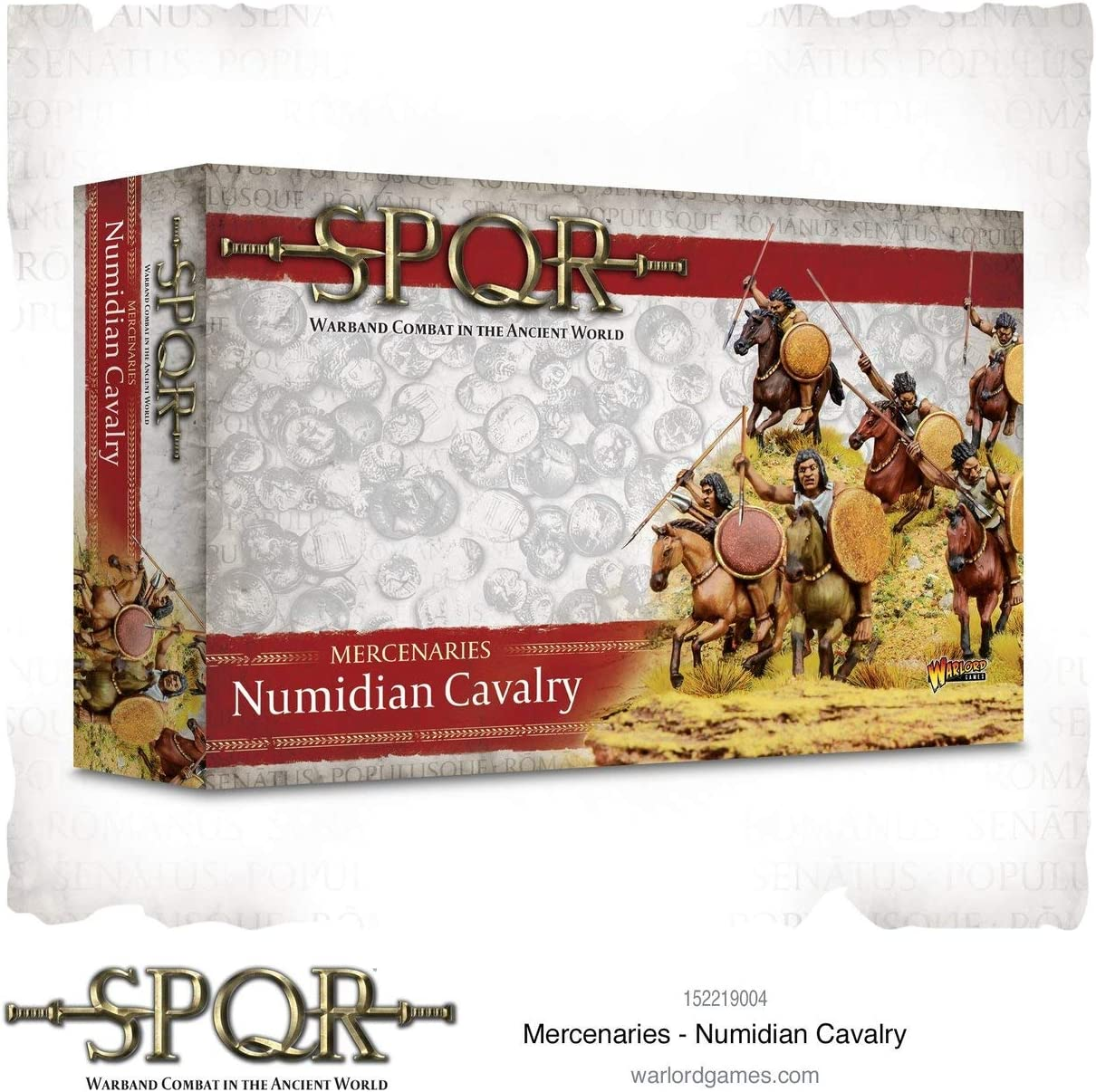 SPQR Warlord Games Mercenaries Numidian Cavalry 152219004