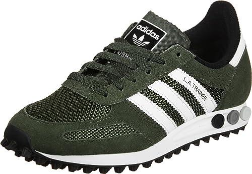 54cc98ba20 adidas la Trainer OG, Zapatillas de Deporte para Hombre, Verde  (Carnoc/Ftwbla/Negbas), 37.5 EU: Amazon.es: Zapatos y complementos