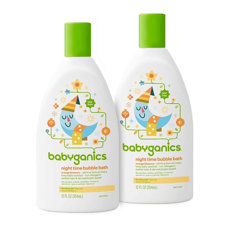 Babyganics Baby Bubble Bath, Chamomile Verbena, 20oz Bottle, (Pack of 2) BGBBCV20 Baby bath products Baby Ganics Baby Laundry Detergent