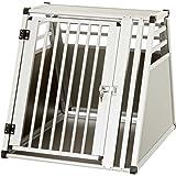 Karlie Flamingo Hundetransportbox aus Aluminium, 75 x 55 x 62 cm