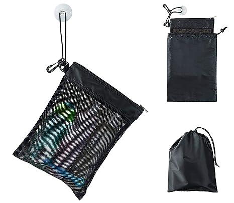 Amazon.com: Bolsa de regadera, malla Caddy Toiletry ...