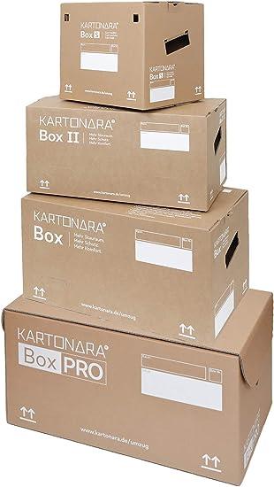 Caja de cartón para mudanzas, caja I, caja II, caja Pro & Box S ...