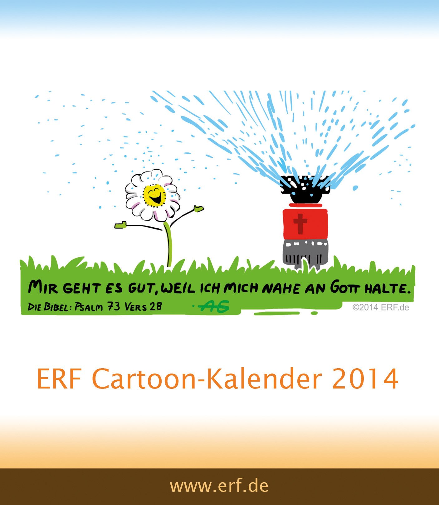 Der ERF Cartoon-Kalender 2014