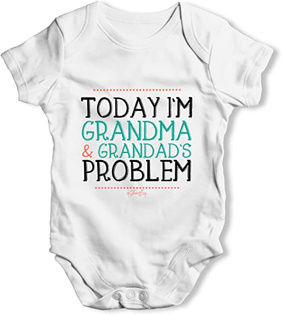 Shopagift I Have The Coolest Granny Ever Baby Sleepsuit Romper