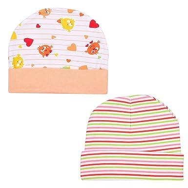 850d09dbcfe 1 3 2 Baby Cotton Caps (0-6 Months