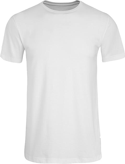 Camiseta Jockey Los E.e.u.u. Originales Americano Cuello Redondo Hombres, Blanca: Amazon.es: Ropa y accesorios