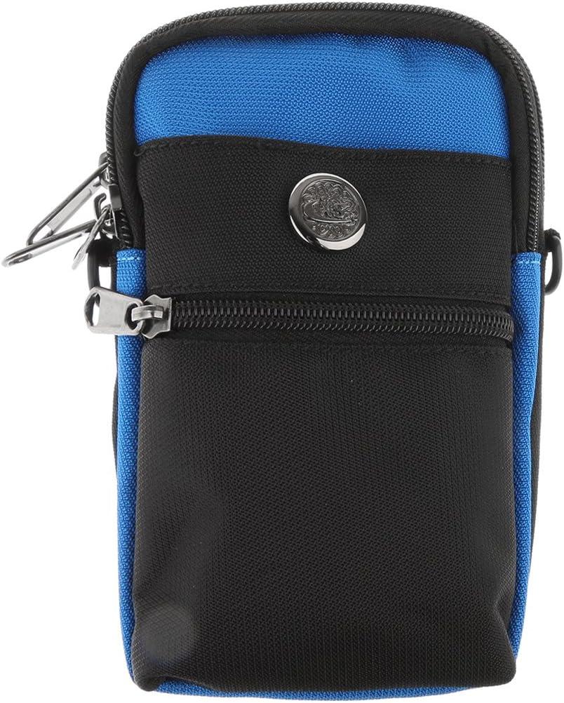 Gazechimp Sacoche Pour Cellulaire Poche Avec Ceinture Sac /À Main Pour Femme Fille Sports Pochette bleu