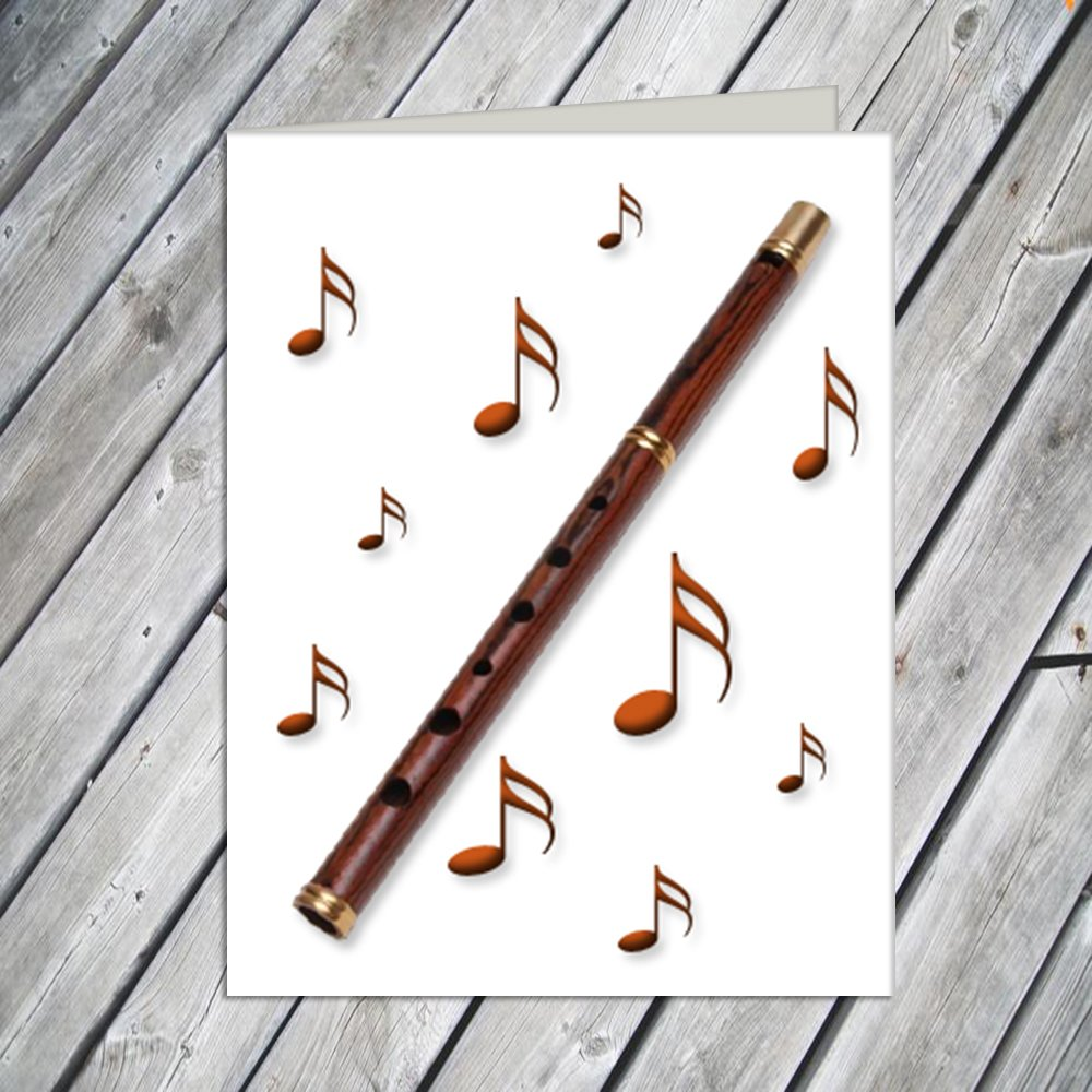 Penny Whistle Note Cards