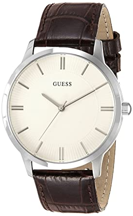 Guess Analog White Dial Mens Watch - W0664G2