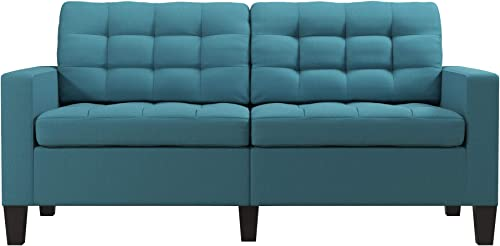 Dorel Living Emily Upholstered Sofa Couch Living Room Furniture