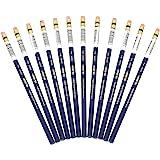 12 Sanford Prismacolor Col-Erase radierbare Buntstifte, - blue - 20044 (mit Radierer)