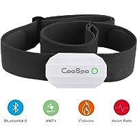 CooSpo Monitor Sensor Banda de Frecuencia Cardiaca Bluetooth