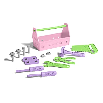 Green Toys Tool Set-Pink, Assorted: Toys & Games