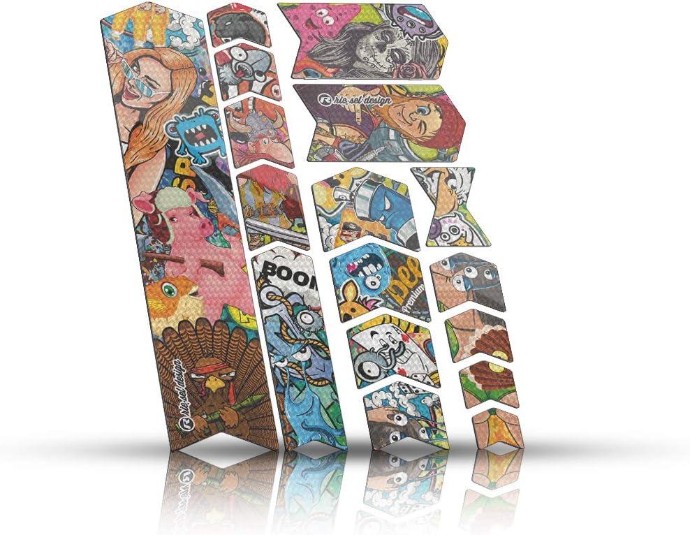 Riesel Design-Frame Tape 3000 Protection de Ton Cadre Protection Contre Les Cailloux