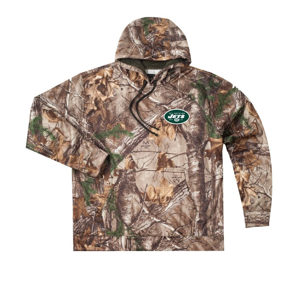 Amazon.com   Dunbrooke Apparel NFL Mens Camo Trophy Xtra Tech Fleece Full  Zip Hoodie   Sports   Outdoors 4a4581fc1