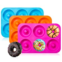 3-Pack Silicone Donut Baking