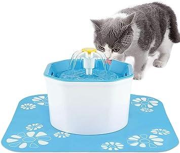 Amazon.com: Shinea - Fuente de agua para gatos, dispensador ...