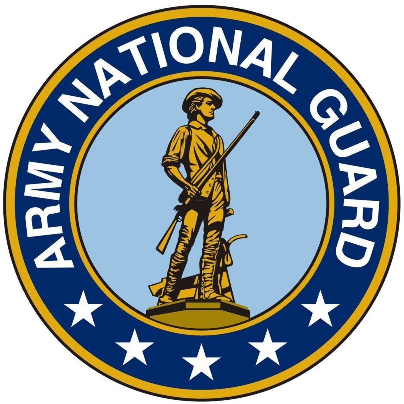1 Pc Overwhelming Unique Army National Guard Sticker Signs Outdoor Window Indoor Graphics Truck Bumper Decals Cars Vinyl Decor Bike Patches Wall Hoverboard Trucks Decal Car Stickers Size 12''x12'' by Chiam-Mart