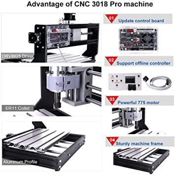 MYSWEETY 3018 pro Milling Machines product image 3