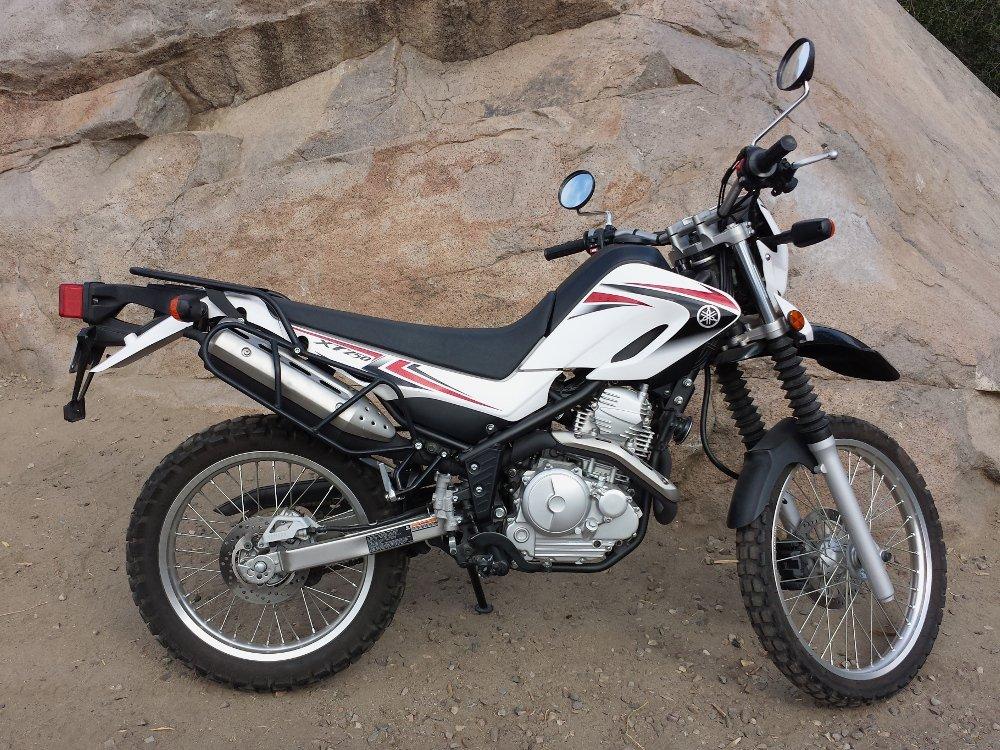 Yamaha XT250 Side Luggage Racks (08 - Present) by Precision Motorcycle Racks (Image #3)