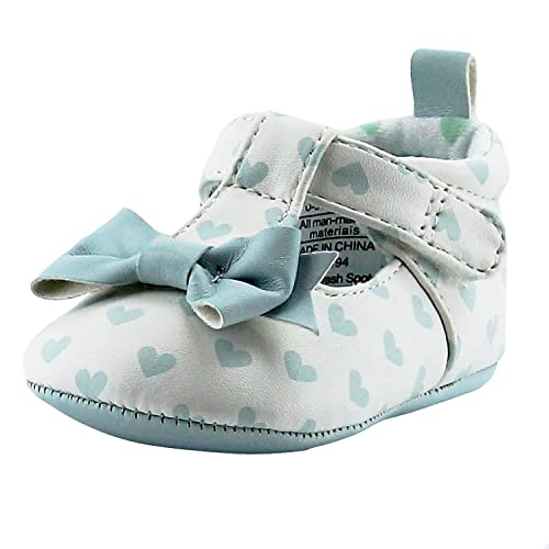 945c3785de5ca Rosie Pope I Love Hearts Baby Girls Mary Jane T-Strap Shoes 3-6