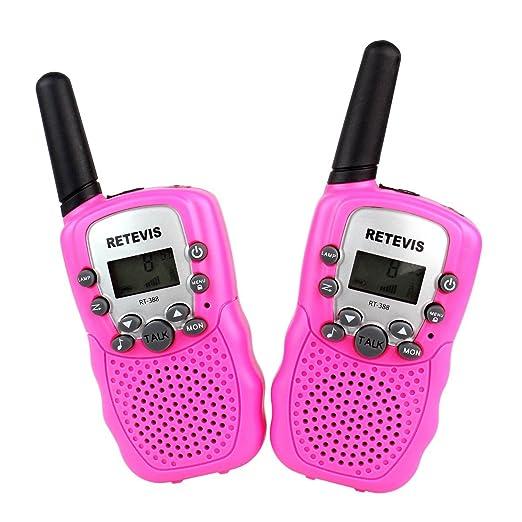 88 opinioni per Retevis RT-388 Walkie Talkie Ricatrasmettitore 8 Canali VOX Ricetrasmittente per