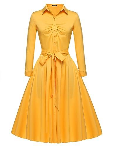 Beyove Women's Vintage 1950s L...