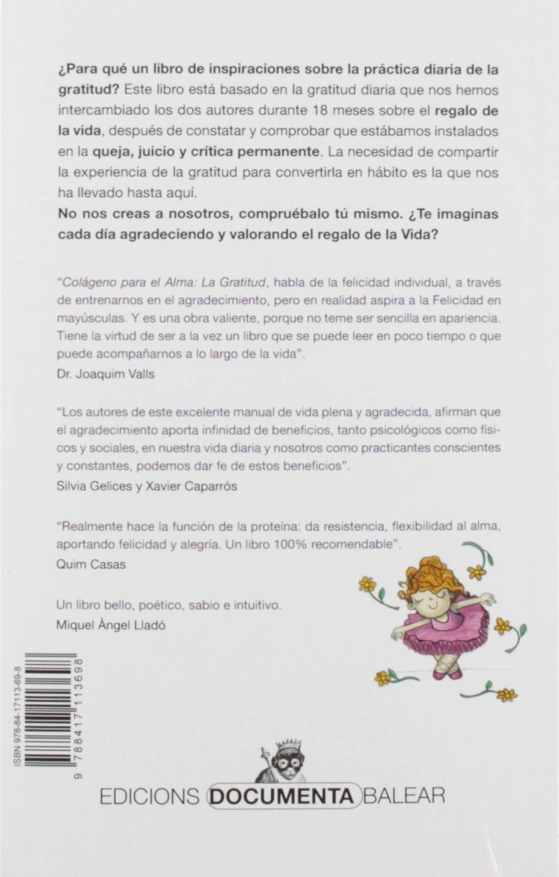 Colágeno para El Alma. la gratitud (Altres): Amazon.es ...