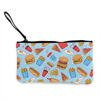 Amazon.com: American Fast Food Pattern Canvas Change ...