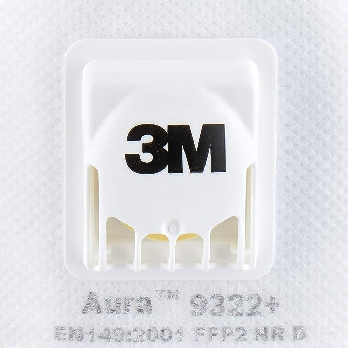 3M xA004837739 Respirador Antipartículas de Plegado Plano: Amazon.es: Industria, empresas y ciencia
