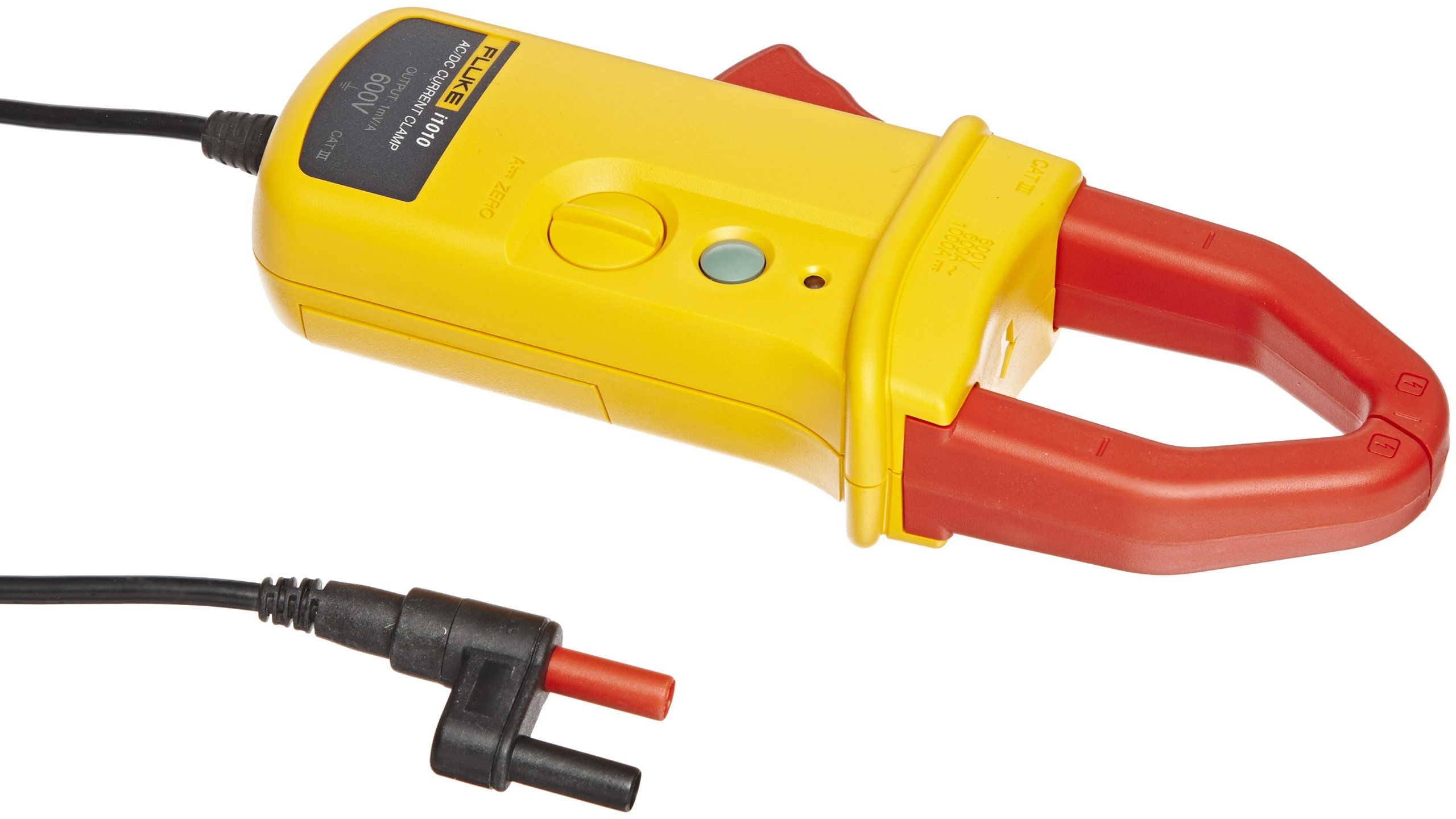 Fluke I1010 AC/DC Current Clamp for DMM's, 600V Voltage, 600A AC, 1000A DC Current